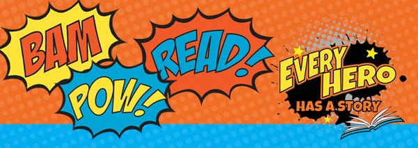 Every Hero Has a Story: Children's summer library programs