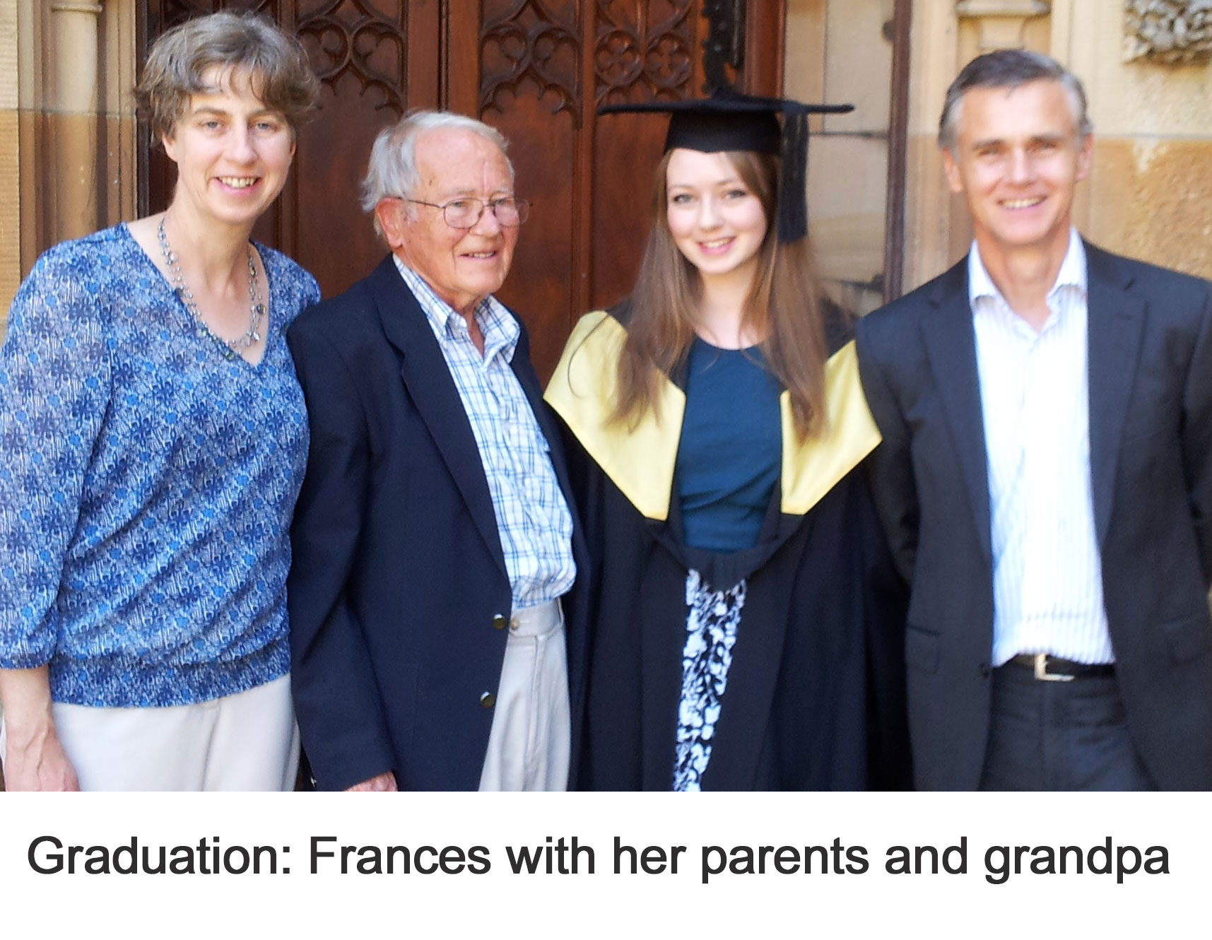 Frances' Graduation