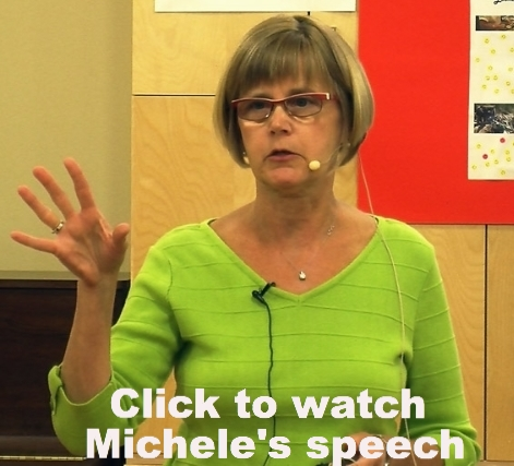 Michele speaks at the DNRS Information Session.  Click to view her speech.