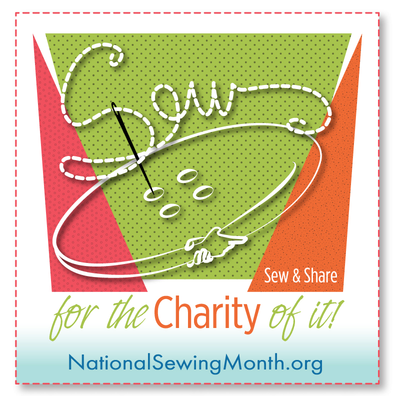 National Sewing Month logo