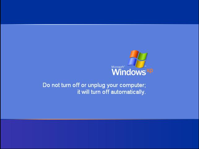 Windows updates itself, Again!