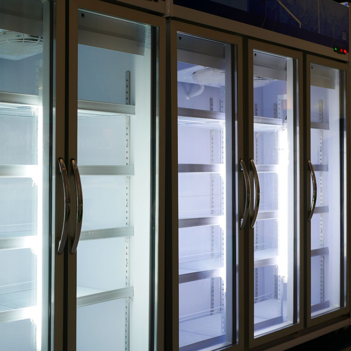 refrigeration display cabinets