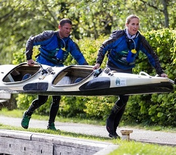Steve and Helen competing in the DW Race © No Limits Photography
