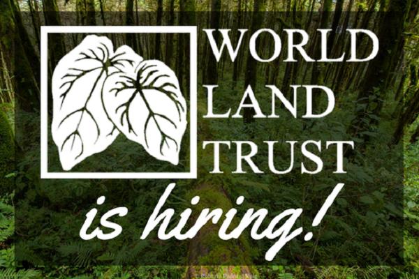World Land Trust is hiring