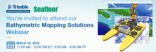 Bathymetric Mapping Solutions Webinar