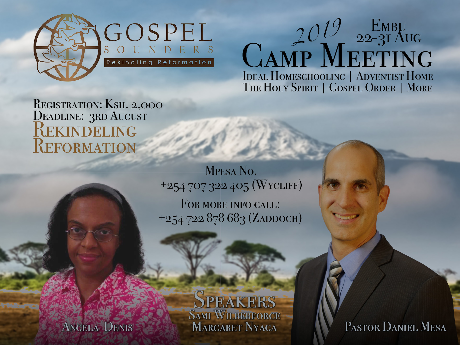 Gospel Sounders Camp Meeting Image for 2019