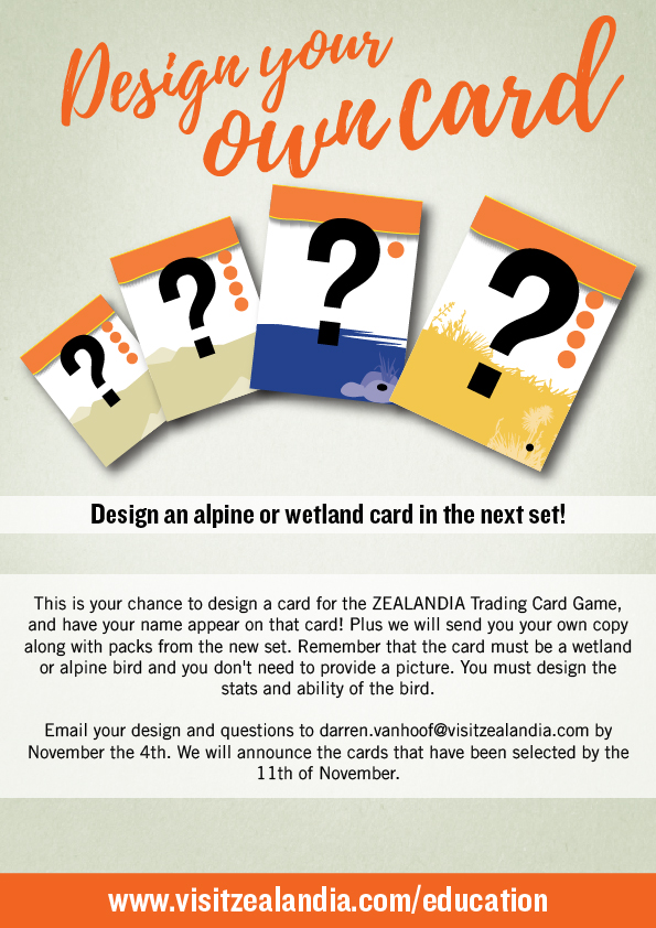 Design your card poster