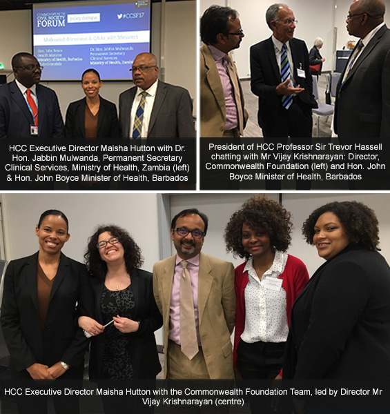 Images from the Commonwealth Forum