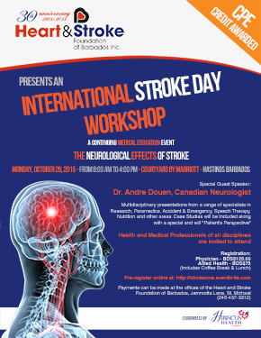 International Stroke Day Workshop