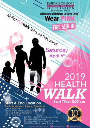 Essence Of Hope Breast Cancer Foundation - April Health Walk