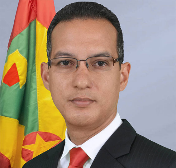 The Honourable Nikolas Steele, Minister Of Health, Social Security And International Business Of Grenada