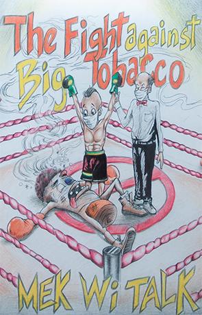 The Winning Anti Tobacco Poster