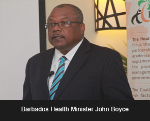 Health Minister John Boyce