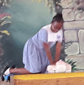 11+ Students Certified in CPR Delivery