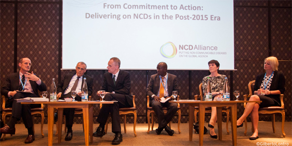 NCD Alliance at the 68th World Health Assembly