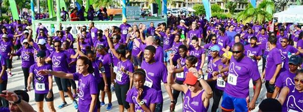The Barbados Cancer Society Presents – Sagicor Globeathon Barbados