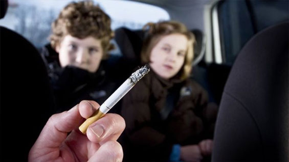 Child Passive Smoking 'Increases Chronic Lung Risk'.