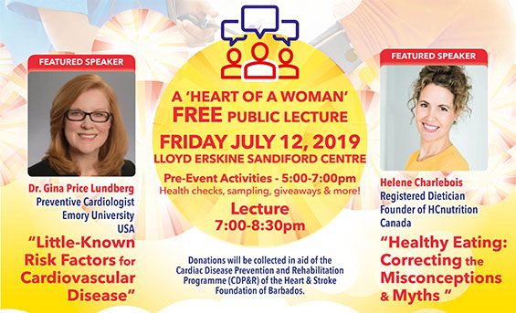 Heart & Stroke Foundation of Barbados Free Public Lecture