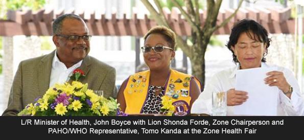 Lions Club Celebrates World Health Day