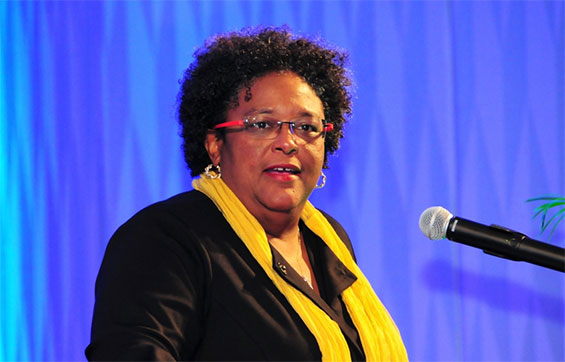 Barbados Prime Minister Mia Amor Mottley