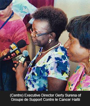 Executive Director Gerty Surena