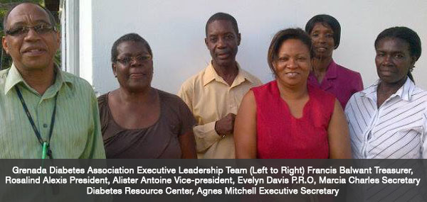 Grenada Diabetes Association Executive Leadership Team