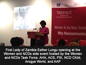 First Lady of Zambia Esther Lungu