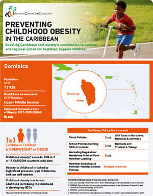 Childhood Obesity Prevention Obesity Fact Sheets