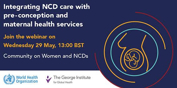 Community on Women and NCDs Webinar