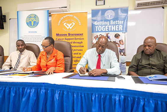 Cancer Support Services Signs MOU with QEH to Support Ward C12