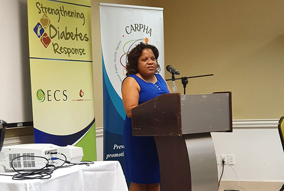 Ms. Lydia Atkins, Programme Officer, OECS Health Unit