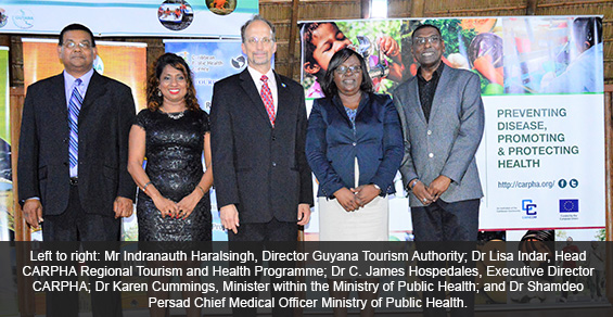 CARPHA and Guyana Launch Novel Public-Private Partnership Program to Boost Tourism and Health