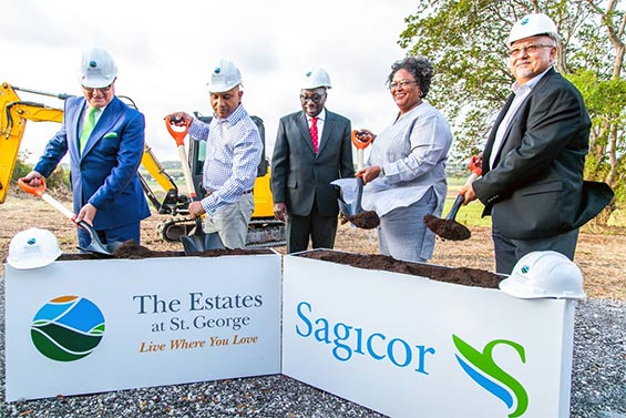 Sagicor Launches the Estates at St George Adult Active Lifestyle Community