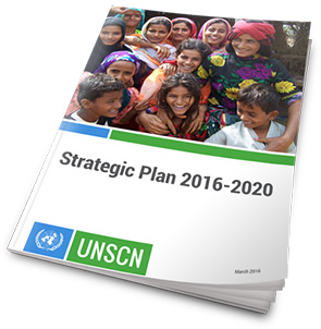 United Nations System Standing Committee on Nutrition (UNSCN) Strategic Paln 2016 - 2020