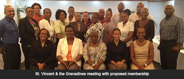 Commonwealth Secretariat Supporting Strengthening of National NCD Commissions in the Caribbean in SVG