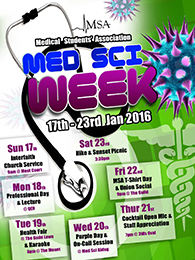 UWI Medical Students Association Week