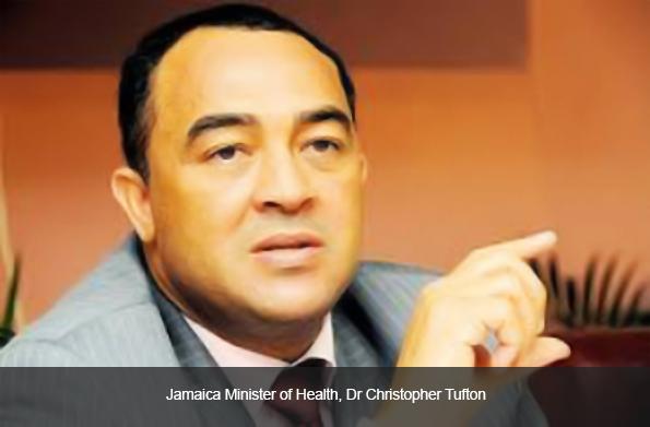 Jamaica Minister of Health, Dr Christopher Tufton
