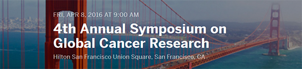 4th Annual Symposium on Global Cancer Research