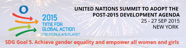 SDG Goal 5. Achieve gender equality and empower all women and girls