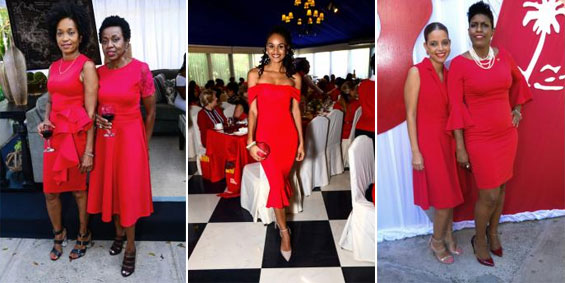 Heart Foundation's High Tea 'RED-Iates' In Style