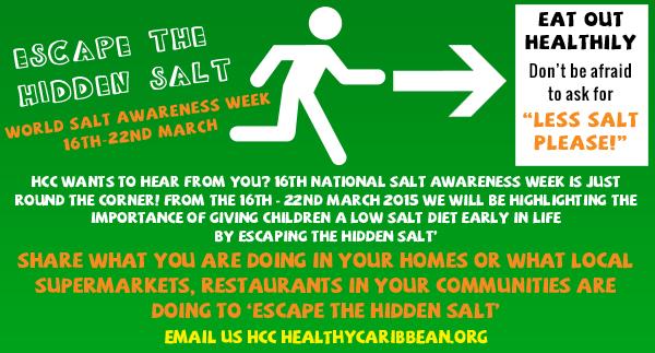 World Salt Awareness Week 2015