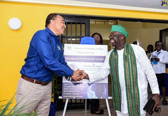 Minister of Health, Dr. the Hon. Christopher Tufton