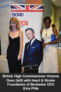 HSFB Bond Movie Fundraising Premiere