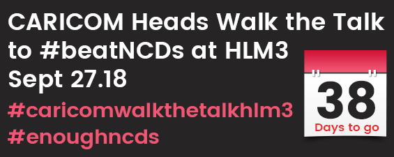 38 Days until the UNHLM on NCDs