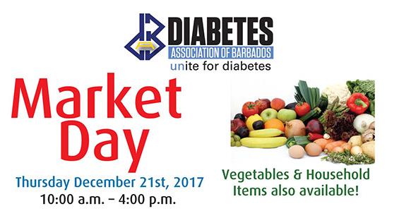 Diabetes Association Market Day