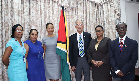 Courtesy Call to Hon. Minister of Public Health Volda Lawrence