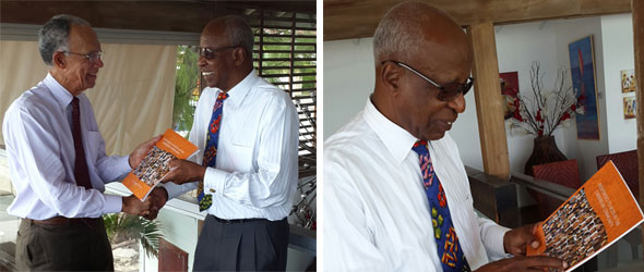 HCC President meets Barbados Ambassador Designate to the UN