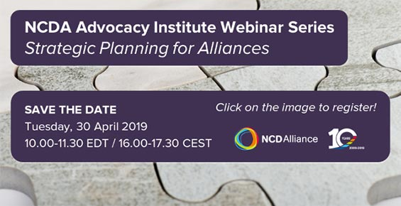 Webinar of the New Advocacy Institute Webinar Series