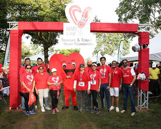 The Trinidad and Tobago Heart Foundation Heart and Sole 5K for World Heart Day