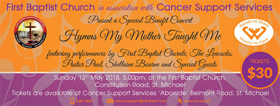 Cancer Support Services Special Benefit Concert